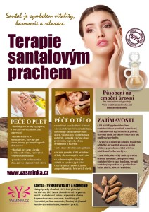 Terapie santalovým prachem